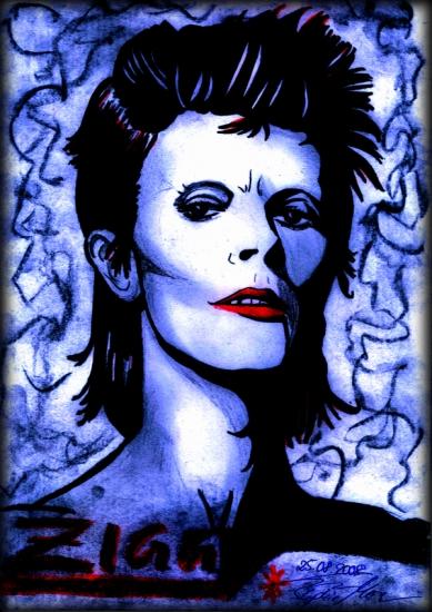 David Bowie par RaiRuri